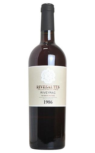 リヴザルト 1986 リヴェイラック 赤ワイン 甘口 フルボディ 750mlRIVESALTES [1986] RIVEYRAC (MA'S DEL VIN-ELNE)