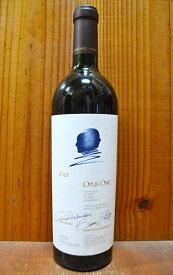 【送料・代引無料】オーパス ワン 2013 ロバート モンダヴィ & バロン フィリピーヌ ド ロートシルト家 750ml 赤ワイン 辛口 フルボディ (オーパス・ワン)OPUS ONE [2013] Robert Mondavi & Baron Philippine de Rothschild
