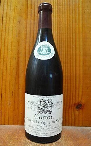 【3本以上ご購入で送料・代引無料】コルトン グラン クリュ 特級 クロ ド ラ ヴィーニュ オー サン 2007 ルイ ラトゥール元詰 AOCコルトン グラン クリュ 特級 赤ワイン ワイン 辛口 フルボディ 750mlCorton Grand Cru Clos de La Vigne au Saint [2007]