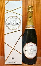 【6本以上ご購入で送料・代引無料】【箱付】ローラン ペリエ シャンパーニュ ブリュット ラ キュヴェ 正規 新ラベル 泡 白 辛口 シャンパン 750ml (ローラン・ペリエ)Laurent-Perrier Champagne Brut La Cuvee AOC Champagne