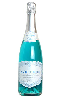 ヴァーグ ブルー 青色 スパークリングワイン (エルヴェ ケルラン) 辛口 青色 スパークリング 750mlLA VAGUE BLEUD Sparkling Wine (Blue) Herve Kerlann