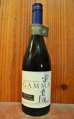 ガンマ オーガニック ピノ ノワール レセルバ 2015 ベサ ワイナリー 赤ワイン 辛口 ミディアムボディ 750mlGamma Organic Pinot Noir Reserva [2015] V.E.S.A