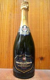 【6本以上ご購入で送料・代引無料】グラハム ベック ブリュット ブラン ド ブラン ロバートソン ヴィンテージ 2014 (W.Oロバートソン) 正規 南アフリカ 白 泡 ワイン スパークリン 辛口 750mlGRAHAM BECK Brut Blanc de Blancs [2014]