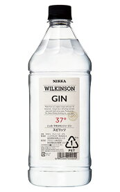 【正規品 1800ml】ウィルキンソン ジン ロンドン ドライ ジン スピリッツ 1,800ml 37% (ウイルキンソン)