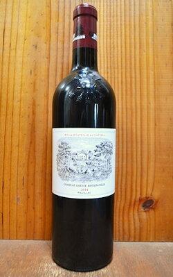 シャトー ラフィット ロートシルト 2014 メドック プルミエ グラン クリュ クラッセ 格付第一級 赤ワイン ワイン 辛口 フルボディ 750ml (シャトー・ラフィット・ロートシルト)Chateau Lafite Rothschild [2014]