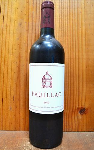 【3本以上ご購入で送料・代引無料】ポイヤック ド ラトゥール 2012 メドック グラン クリュ クラッセ 格付第一級 シャトー ラトゥールの3rd的ワイン フランス ボルドー AOCポイヤック 赤ワイン ワイン 辛口 フルボディ 750ml
