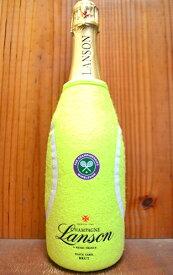 シャンパーニュ ランソン ブラック ラベル ブリュット (ランソン ウィンブルドン テニスボール シャンパンカバー付き) 泡 白 辛口 シャンパン シャンパーニュ ワイン 750ml 正規Lanson BLACK LABEL BRUT