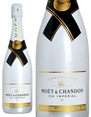 モエ エ シャンドン アイス アンペリアル シャンパーニュ ブワール シュール グラセ (モエ 白ラベル) ドゥミ セック 正規代理店品 (正規品) 泡 白 シャンパン ワイン やや甘口 750mlMoet & Chandon ICE IMPERIAL Champagne Boire Sur Glace Demi Sec AOC Champagne