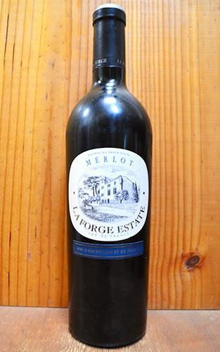イル ラ フォルジュ メルロー 2016 ジャン クロード マス ワイン王国5つ星獲得ワインIle La Forge Merlot [2016] Vignes des Coteaux
