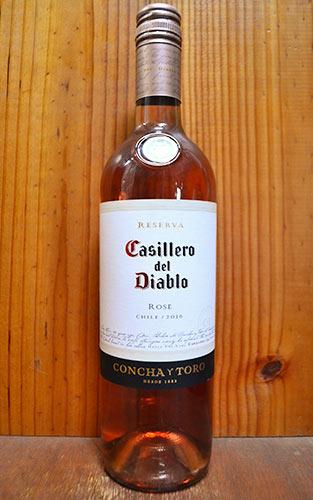 カッシェロ デル ディアブロ ロゼ レセルバ 2016 コンチャ イ トロ 正規 ロゼワイン ワイン 辛口 750mlCasillero del Diablo Rose Reserva [2016] Concha y Toro