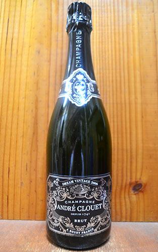 アンドレ クルエ シャンパーニュ グラン クリュ ドリーム ヴィンテージ 2006 フランス AOCミレジム グラン クリュ シャンパーニュ 正規 白 辛口 泡 シャンパン 750ml (アンドレ・クルエ・シャンパーニュ)ANDRE CLOUET Champagne Grand Cru Brut Dream Vintage [2006]