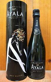 【デザイン缶入り】アヤラ シャンパーニュ ブリュット マジュール (メゾン アヤラ) スペシャル限定パッケージ 正規 泡 白 辛口 シャンパン 750ml ワインAYALA Champagne Brut MAJEUR AOC Champagne
