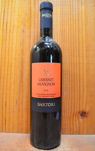 【777均】サルトーリ カベルネ ヴェネト オーガニック 2016 カーサ ヴィニコーラ サルトーリ 赤ワイン 辛口 フルボディ 750mlSARTORI Cabernet Veneto Organic [2016]