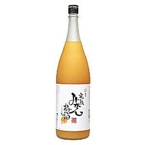 紀州完熟みかん梅酒 1.8L 1800ml (早和果樹園・味まろしぼり使用) 健康食前酒 紀州の梅酒 梅飲料