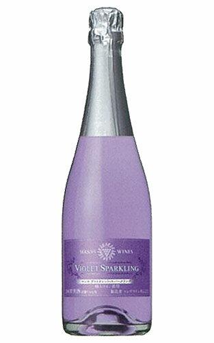 【予約品】【新酒】山梨 ヴァイオレット 紫色 スパークリング (新酒) (ヌーヴォー) (完全予約商品) 720ml