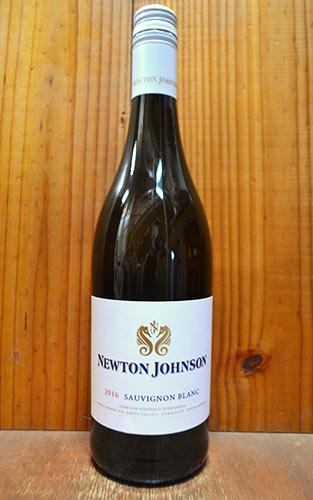 ニュートン・ジョンソン・ソーヴィニヨン・ブラン[2016]年・W.O.ケープ・サウス・コースト・(南アフリカ)・ニュートン・ジョンソン・ワインズ・(サクラアワードで見事ゴールドメダル(金賞)受賞酒)Newton Johnson Sauvignon Blanc [2016]