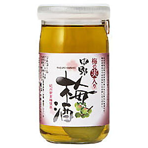 中野梅酒 梅の実入り(160ml) 梅の実2個入り 本格梅酒 健康食前酒 紀州の梅酒 梅飲料