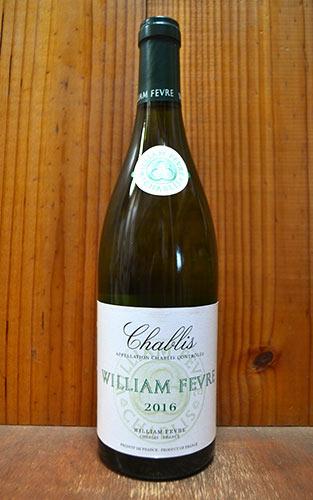 シャブリ 2016 ウイリアム フェーヴル 白ワイン 辛口 750mlChablis [2016] WILLIAM FEVRE AOC Chablis