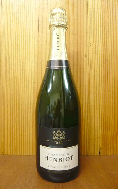 【箱無】アンリオ・ブラン・ド・ブラン・ブリュットHenriot Blanc de Blancs Brut AOC Champagne