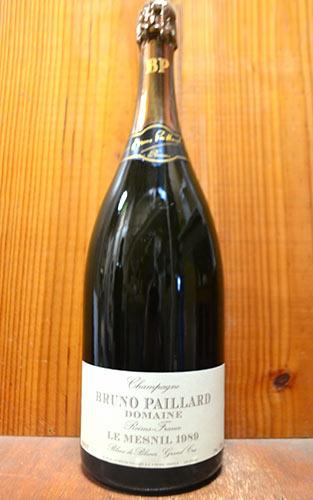 大型マグナムボトル ブルーノ パイヤール シャンパーニュ ル メニル グラン クリュ 1989 マグナムサイズ 1.5L 1500ml 正規 泡 白 シャンパン ワイン 辛口 (ブルーノ・パイヤール)BRUNO PAILLARD Champagne LE MESNIL Grand Cru Blanc de Blancs [1989]