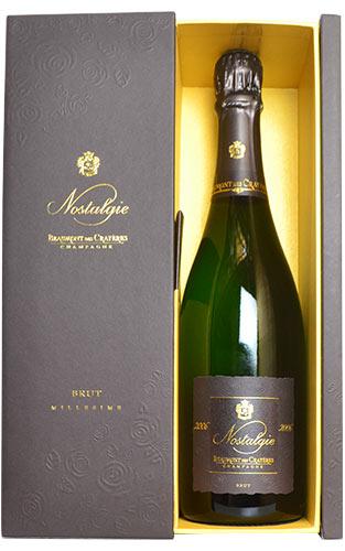 【豪華ギフトボックス入り】シャンパーニュ ボーモン デ クレイエール ノスタルジー ブリュット ミレジム 2006 箱付 泡 白 辛口 シャンパン 750ml ワインBeaumont des Crayeres Champagne Nostalgie Millesime [2006] C.M. AOC Millesime Champagne DX Gift Box