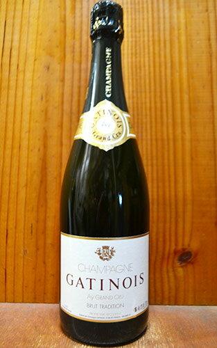 ガティノワ シャンパーニュ グラン クリュ 特級 ブリュット トラディション 泡 白 シャンパン ワイン 辛口 750mlGATINOIS Champagne Grand Cru Ay Brut Tradition R.M AOC Grand Cru Champagne