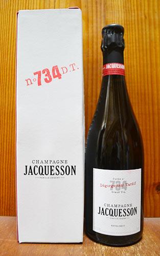 【箱入】ジャクソン シャンパーニュ キュヴェ 734 デゴルジュマン タルディフ (レコルト 2006年) エクストラ ブリュット オリジナル箱付 ロバート パーカー ワインアドヴォケイト誌 93点 フランス シャンパン ワイン 泡 辛口 750ml