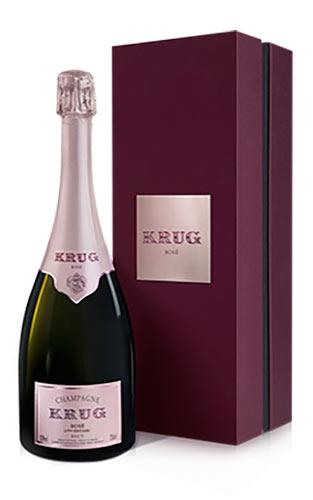 クリュッグ ロゼ 正規 箱付 750ml シャンパン シャンパーニュ・セレブ御用達!あの!マドンナも愛飲する高級ロゼ・シャンパーニュKrug Champagne Rose Brut Gift Box