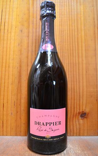【3本以上ご購入で送料・代引手数料無料】ドラピエ シャンパーニュ ロゼ ブリュット ドラピエ社 正規 泡 辛口 シャンパン シャンパーニュ 750mlChampagne DRAPPIER Rose Brut AOC Champagne