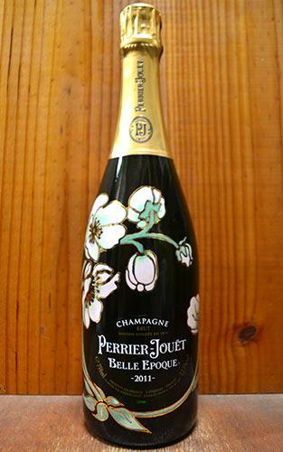 【お一人様6本限り】ペリエ ジュエ ベル エポック ブラン シャンパーニュ ヴィンテージ 2011 正規 泡 白 シャンパン ワイン 辛口 750ml (ペリエ・ジュエ)PERRIER JOUET Cuvee BELLE EPOQUE Fleur de Champagne Millesime [2011] AOC (Millesime) Champagne