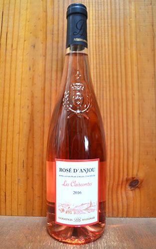 ロゼ・ダンジュ・レ・クレール・コント[2016]年・(ドナシャン・バユオー社)・AOCロゼ・ダンジュRose d'Anjou Donatien Bahuaud (Ackerman) AOC Rose d'Anjou