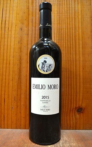 エミリオ モロ 2015 ボデガス エミリオ モロ家 D.O.リベラ デル ドゥエロ スペイン 赤ワイン ワイン 辛口 フルボディ 750ml (エミリオ・モロ)Emilio Moro [2015] Bodegas Emilio Moro Ribera del Duero
