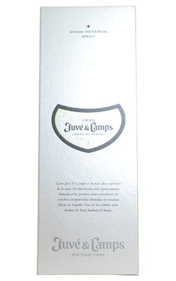 【3本以上ご購入で送料・代引無料】【豪華箱入】ジュヴェ カンプス カバ グラン レセルバ グラン ブリュット ヴィンテージ 2013 ジュヴェ カンプス社 箱付 ギフト 正規 泡 白 スパークリングワイン ワイン 辛口 750ml
