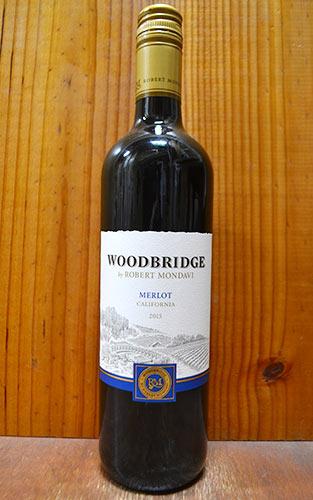 ロバート・モンダヴィ ウッドブリッジ・メルロー[2015]年・ロバート・モンダヴィ・ワイナリー・カリフォルニアROBERT MONDAVI WOODBRIDGE Merlot [2015]
