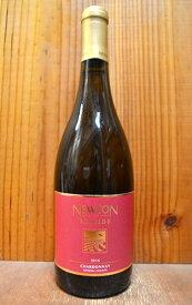 ニュートン・スカイサイド・シャルドネ(レッドラベル)[2017]年・フレンチオーク樽熟・ニュートン・ヴィンヤードNEWTON Chardonnay [2017] Napa County70% Sonoma County30%