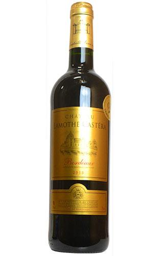 シャトー ラモス カステラ 2015 フランス AOCボルドー ワイン 赤ワイン 辛口 ミディアムボディ 750ml (シャトー・ラモス・カステラ)Chateau Lamothe Castera [2015] AOC Bordeaux