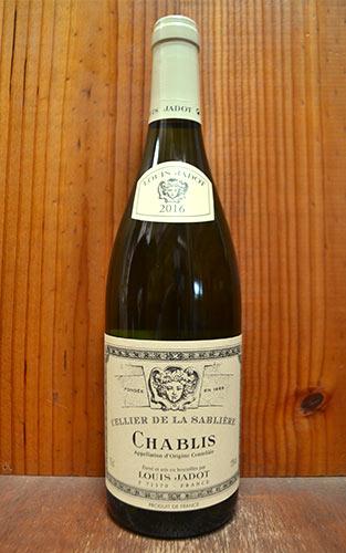 シャブリ セリエ ド ラ サブリエール 2017 ルイ ジャド 正規 フランス ブルゴーニュ AOCシャブリ 白ワイン ワイン 辛口 750mlChablis Cellier de la Sabliere [2017] LOUIS JADOT