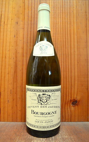 ブルゴーニュ シャルドネ クーヴァン デ ジャコバン 2016 ルイ ジャド 正規代理店輸入品 限定品 フランス ブルゴーニュ 白ワイン ワイン 辛口 750mlBourgogne Blanc Couvent des Jacobins Blanc [2016] Louis Jadot