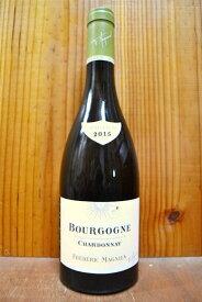 【6本以上ご購入で送料・代引無料!】ブルゴーニュ シャルドネ 2017年 オーク樽熟成 フレデリック マニアン AOC ブルゴーニュ シャルドネ 正規代理店輸入品Bourgogne Chardonnay 2017 Frederic Magnien AOC Bourgogne Chardonnay