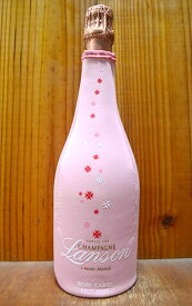 【シャンパンカバー付】ランソン ロゼ ブリュット シャンパーニュ 正規 AOCシャンパーニュ ロゼ 辛口 泡 シャンパン 750ml (ランソン特製シャンパンカバー付) (ランソン・ロゼ・ブリュット・シャンパーニュ)Lanson Champagne Rose Label Brut
