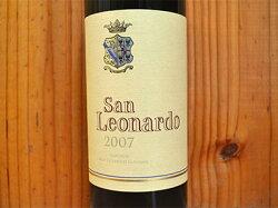 サン レオナルド 2007 テヌータ サン レオナルド 赤ワイン ワイン 辛口 フルボディ 750mlSan Leonardo [2007] (Guerrieri Gonzaga) Tenuta San Leonardo Vigneti delle Dolomiti IGT Trentino Alto Adige
