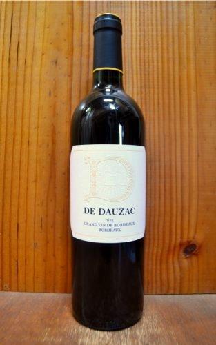 シャトー ド ドーザック ディー ド ドーザック 2015 AOCボルドー フランス 赤ワイン ワイン ミディアムボディ 750mlD de DAUZAC [2015] Chateau de Dauzac