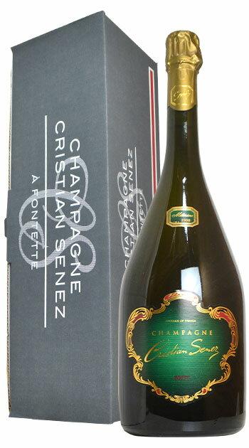 【ギフト箱入】大型マグナムサイズ クリスチャン セネ シャンパーニュ ブリュット ミレジム 1998 AOCヴィンテージ シャンパーニュ 正規品 高級泡 泡 白 シャンパン スパークリング ワイン 辛口 1.5L (1500ml)Christian Senez Brut Millesime [1998] M.G Gift Box