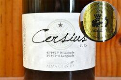 【6本以上ご購入で送料・代引無料】セルシウス ブラン プレミアム  (白) 2015 アルマ セレシウス生産組合元詰 IGPコトー デ ベジエ 重厚ボトル フランス 白ワイン ワイン 辛口 750mlCersius Blanc Premium [2015] Alma Cersius IGP Coteaux de Beziers