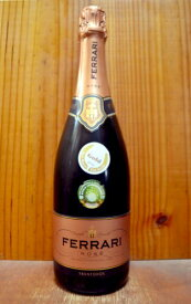 フェッラーリ ブリュット ロゼ (メトッド クラシコ) 正規代理店輸入品 750ml ロゼ スパークリングワイン イタリア DOCトレント (トレンティーノ アルト アディジェ)Ferrari Brut Rose Sparkling DOC Trento (V.S.Q.P.R.d TALENTO)