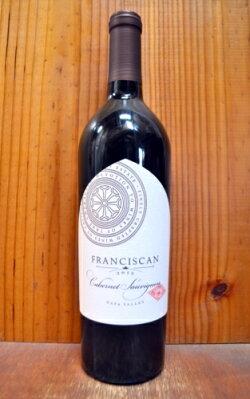 【6本以上ご購入で送料・代引無料】フランシスカン カベルネ ソーヴィニヨン ナパ ヴァレー 2015 ジャネット メイヤー アメリカ 赤ワイン ワイン 辛口 フルボディ 750mlFranciscan Napa Valley [2015] Cabernet Sauvignon