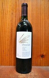 オーパス ワン オーヴァーチュア(オーパス ワンの希少なセカンド ラベル) N.V カリフォルニア ワイン アルコール度数14.5% 裏ラベルにボトルIDナンバー入りOVERTURE (OPUS ONE) Oakville California
