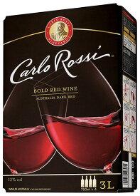 【8本ご購入で送料無料】カルロ ロッシ オーストラリア ダーク E&J ガロ ワイナリー 3L バッグインボックス 赤ワイン 辛口 フルボディ 3000mlCarlo Rossi Australia Dark E&J Gallo Winery 3L Bag-in-box