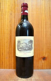 シャトー ラフィット ロートシルト 2002 メドック プルミエ グラン クリュ クラッセ 格付第一級 AOCポイヤック 赤ワイン ワイン 辛口 フルボディ 750mlChateau Lafite Rothschild [2002] 1er Grand Cru Classe du Medoc en 1855 AOC Pauillac