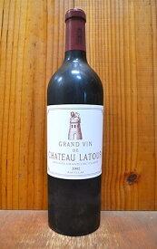 シャトー ラトゥール 2002年 メドック プルミエ グラン クリュ クラッセ 公式格付第一級 AOCポイヤックChateau Latour 2002 Grand Cru Classes Premiers Cru du Medoc en 1855 AOC Pauillac